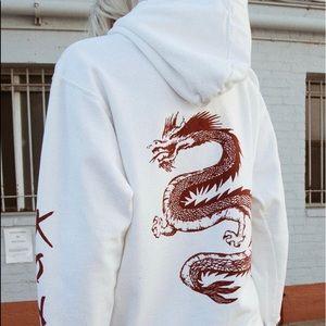 Brandy Melville Dragon Sweatshirt